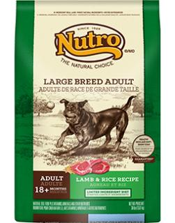 Natural choice adult large breed lamb