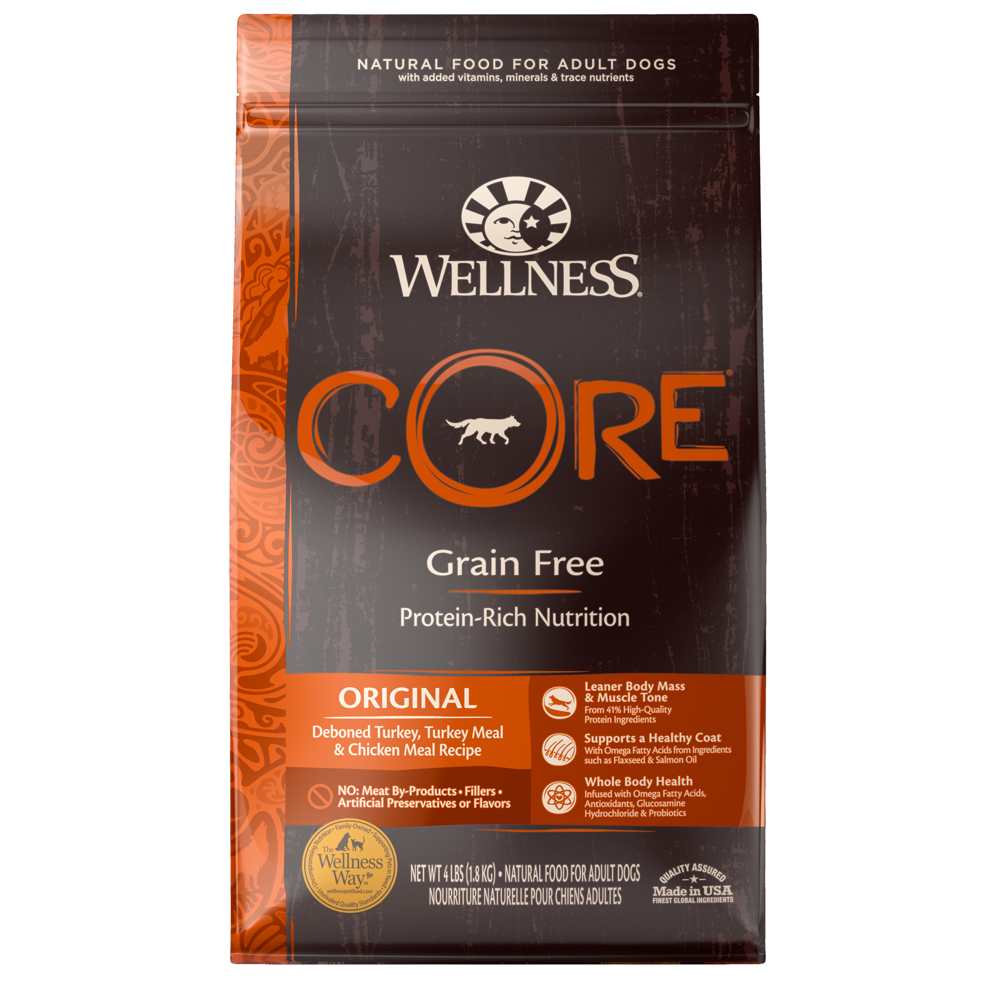 Wellness Core Original Dry Dog Food Grain Free